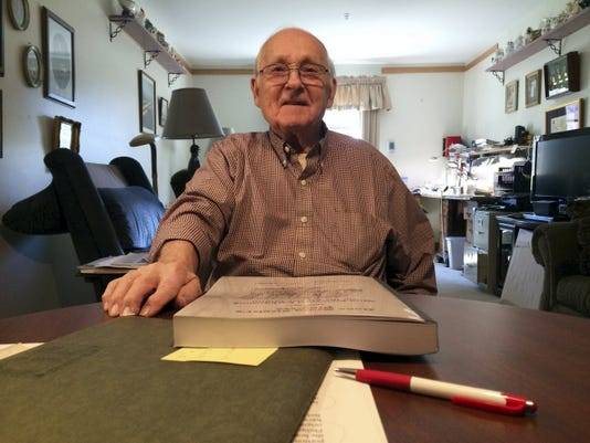Allen Zeigler compiled his family history — 14 generations of it — in a 450-page book that tracing his ancestors back to the 1600s.