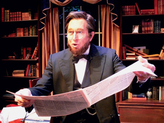 """Granville """"Sonny"""" Van Dusen stars in the one-man play """"The Memoirs of Abraham Lincoln,"""" at Totem Pole Playhouse July 10-26. Submitted"""