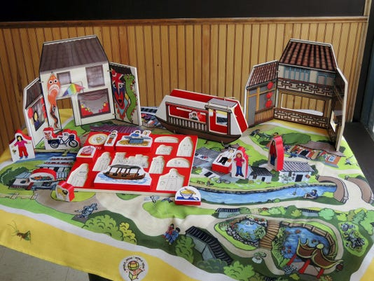 Laura Barta of Hershey hopes that her first educational toy, World Village Playset-China will expand into a series. She's considering a second playset featuring either Ireland or Spain.