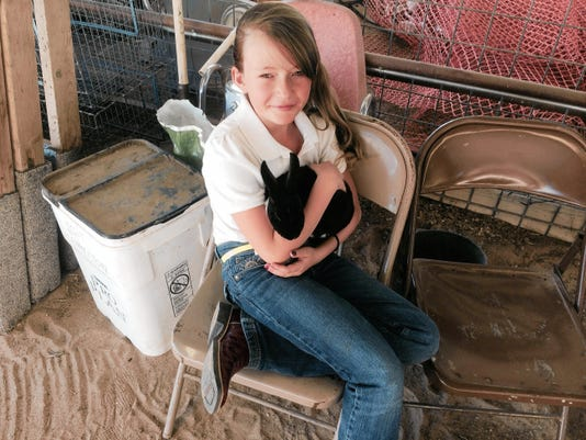 The rabbit show follows the poultry show at 2 p.m. Aug. 5 at the Lincoln County Fair in Capitan.