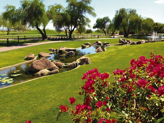 The Fairmont Scottsdale Princess is located on a lushly manicured 65 acres that includes two championship level golf courses.