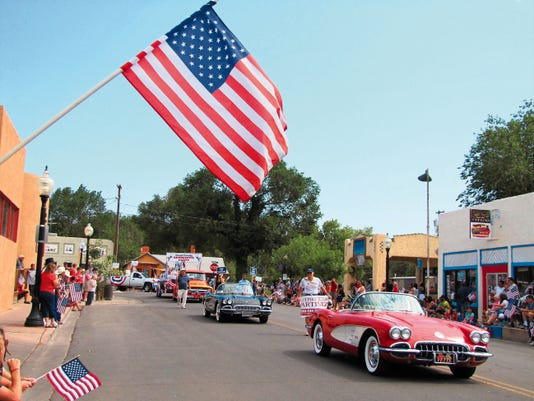 Saturday brings the Fourth of July celebrations to Silver City, including the popular parade, seen in this file photo from 2014. This year, the parade route will be north on Hudson Street only due to the ongoing bridge construction.