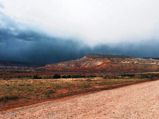 Ghost Ranch is located in northern New Mexico off US Highway 84, past Santa Fe. The location offered inspiration for famed artist Georgia O'Keeffe and carries with it a rich history.