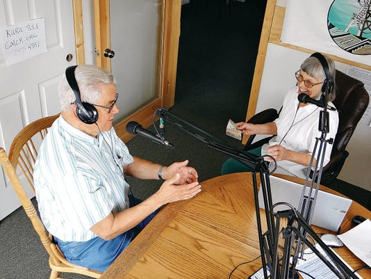 Paula Geisler interviews Peter Falley about the Grant County Community Concert season at Gila Mimbres Community Radio. Phoebe Lawrence - Sun-News