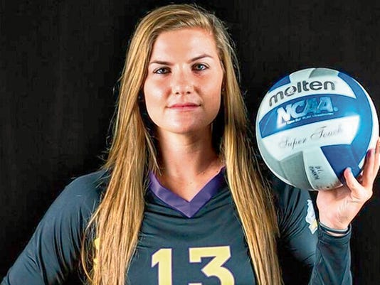 Courtesy Photo   Western's Leeta Grap was named to the All-Tournament Team at the Coyote Classic as well as the RMAC Offensive Player of the Week.