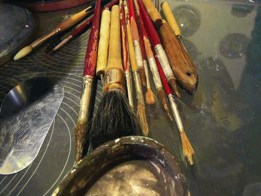 The tools of creativity.