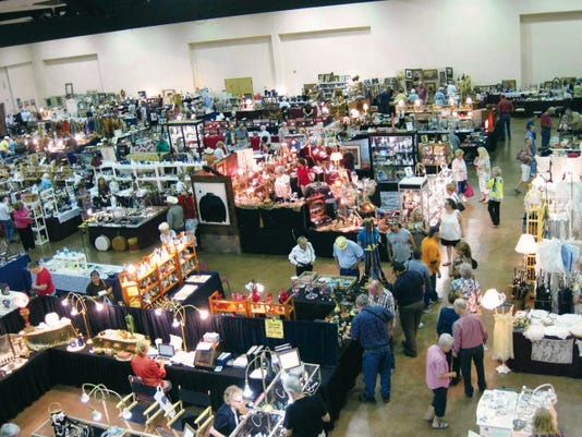 Celebrating 25 years, the Ruidoso Antique Show is set for Friday to Sunday at the Ruidoso Convention Center, 111 Seirra Blanca Drive.