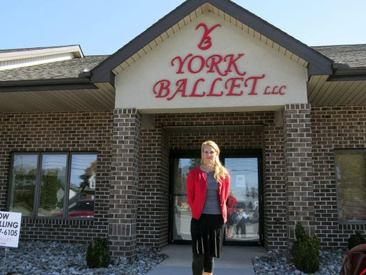 York Ballet owner Gretchen Patchell has been training in ballet since she was 7 years old and teaching for nearly 20 years, but the new studio in Red Lion is the first she's owned.