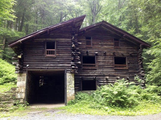 Never seen the Bordner Cabin up close and personal? You could take a guided tour this weekend.