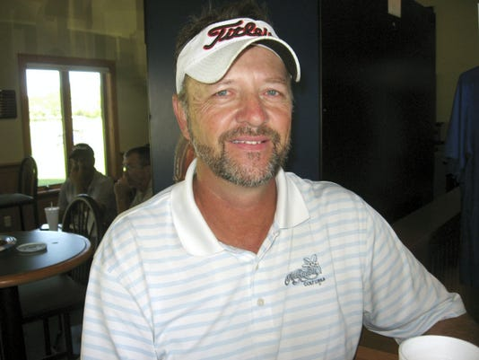 Dave Brown, 53, captured his first Lebanon County Senior Amateur title on Friday at Royal Oaks.