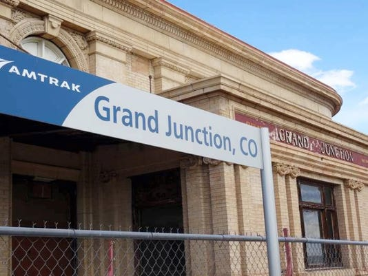 Arrival in Grand Junction, Colo., no longer, as it was in 1923, primarily orchards.