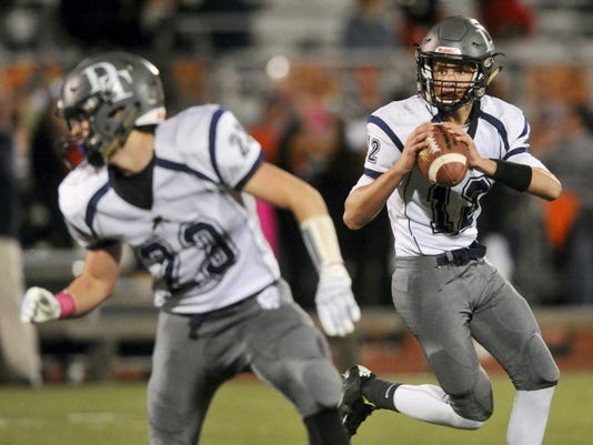 Backup quarterback Michael Sparks helped lead the Wildcats to their 33-14 victory over Central York on Friday. Sparks took over when starting quarterback Cade Gold left with an injury during the first half.