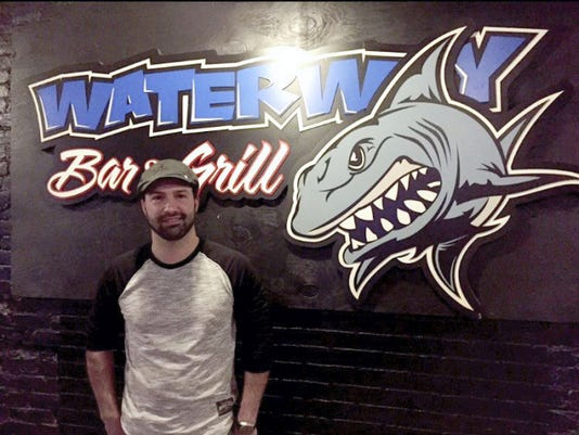 Waterway Bar & Grill bartender Ryan Ruth previously managed a nightclub in Miami, Florida, and, most recently, worked at Fat Daddy's locally. Now, he and his brother own The Waterway Bar & Grill in York. Colin Snyder -- For FlipSide