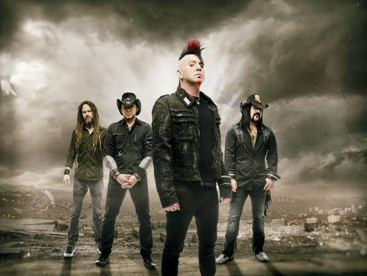 Hard rock band Hellyeah will open for Avenged Sevenfold at Hershey's Giant Center. Hellyeah will release a new album in June.