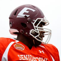 Noah Spence had 11 1/2 sacks with Eastern Kentucky in 2015 after leaving Ohio State.