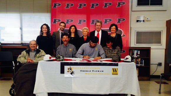 Pisgah senior Thomas Tatham has signed to play college baseball for Wofford.