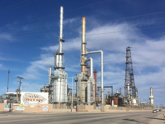 The Navajo Refinery located in Artesia process 100,000 barrels of crude oil per day from around the Permian Basin.
