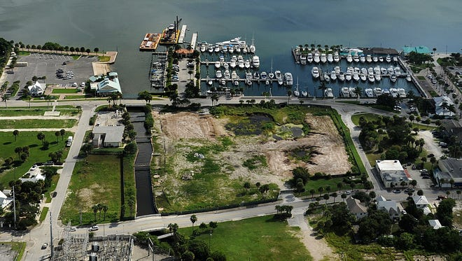 The vacant H.D. King Power Plant property along Indian River Drive in Fort Pierce. Three developers have submitted proposals to bring new life to the former power-plant site.