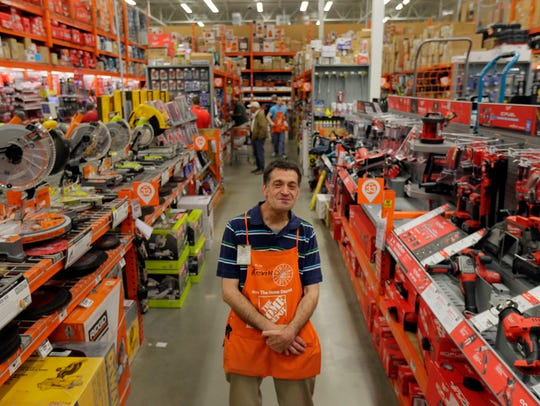 Kevin Woolley knows every inch of The Home Depot's