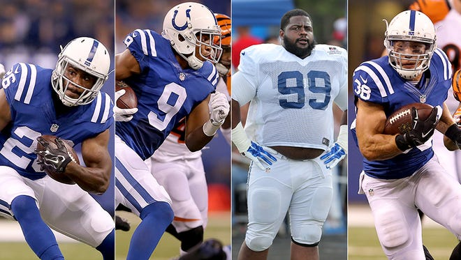 Several surprises in Colts' roster cuts to 53 on September 5, 2015.