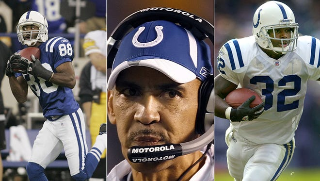 Marvin Harrison, Tony Dungy and Edgerrin James are the Colts among the 2016 preliminary nominees for the Pro Football Hall of Fame.
