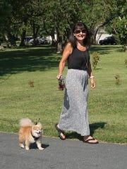 Dawn Baddock, an Animal Resource Foundation volunteer,