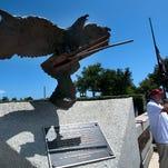 Milton man vandalized 9/11 artifact at Pensacola's Veterans Memorial Park, police say