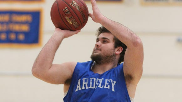 Ardsley 's Julian McGarvey at practice March 5, 2018.