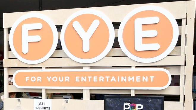 A view of the FYE merchandise tent at Entertainment Weekly's PopFest at The Reef on October 29, 2016 in Los Angeles, California.