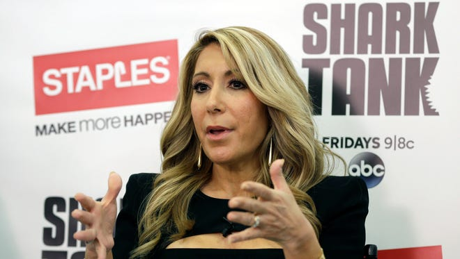"Lori Greiner, a television personality from the show ""Shark Tank"", speaks about how to succeed as an entrepreneur, in New York."