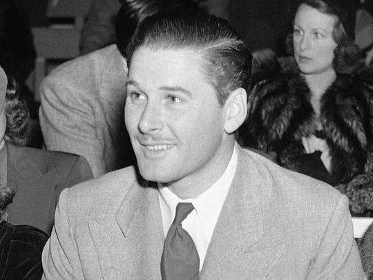 In this June 21, 1939 file photo, Australian actor