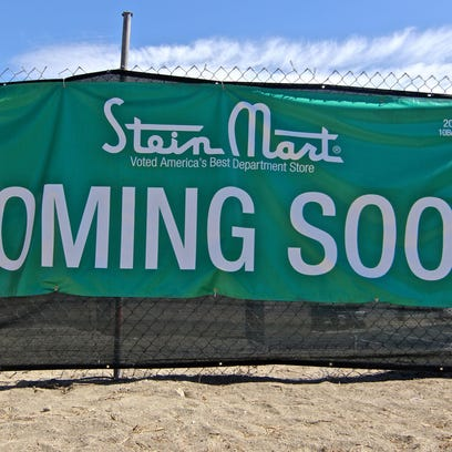 Stein Mart is scheduled to open its doors on Oct. 15 in the Rancho Las Palmas shopping center, at the intersection of Bob Hope Drive and Highway 111 in Rancho Mirage. Rancho Las Palmas is undergoing a major makeover since it was bought by El Segundo-based Paragon Commercial Group last year.