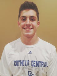 Catholic Central junior QB Marco Genrich was voted