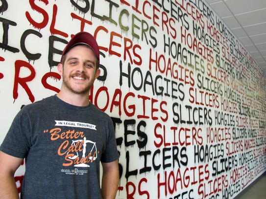 William Francis owns and operates Slicers Hoagies,