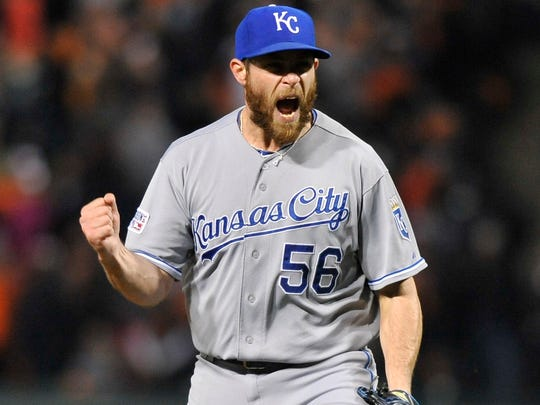 Greg Holland (56), a McDowell County native who pitched