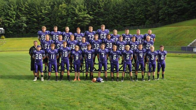 The Mitchell football team.