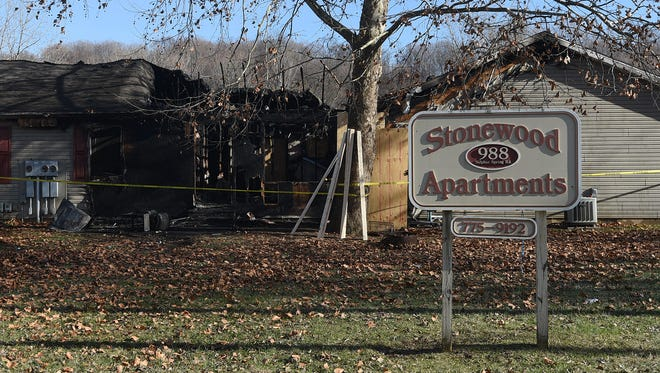 A fire occurred at Stonewood Apartments late Monday night.