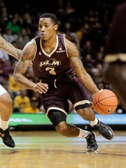 """ULM""""s Marcus Washington will play his final home game on Saturday."""