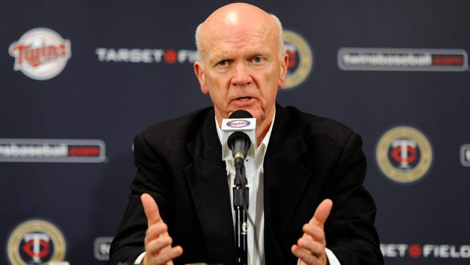 Twins general manager Terry Ryan.
