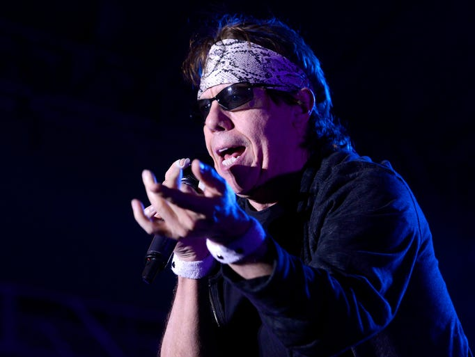George Thorogood and The Destroyers perform Friday night at JazzFest, July 18, 2014.