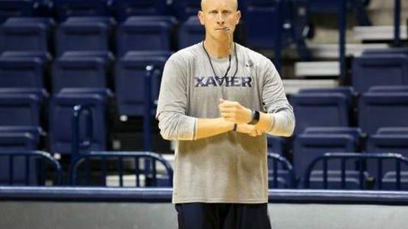 Chris Mack spoke in support of Xavier, the Big East Thursday.