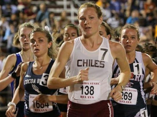 Former Chiles runner Lily Williams, now a redshirt
