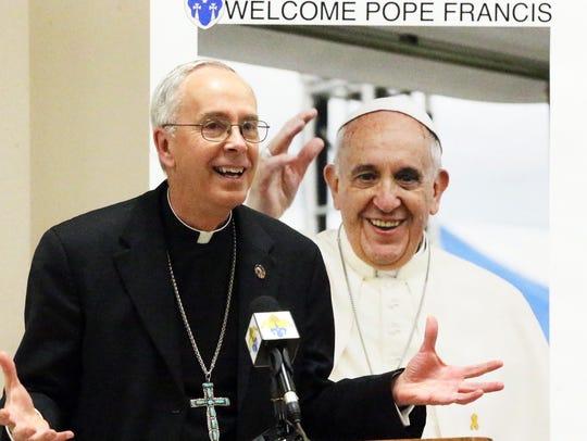 El Paso Catholic Diocese Bishop Mark J. Seitz