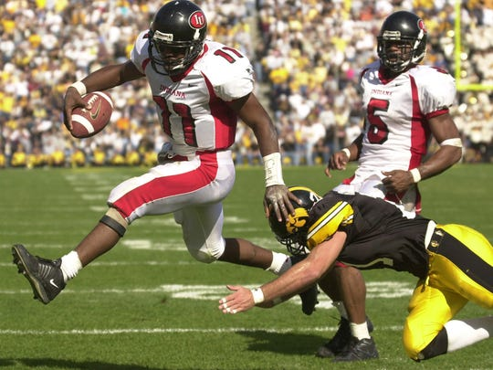 IU QB Antwaan Randle El left the college game as one of the all-time offensive threats.