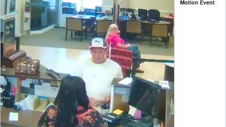 Suspect wanted in May 24, 2016 Hermitage bank robbery.
