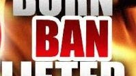 The burn ban has been canceled in Rapides Parish.