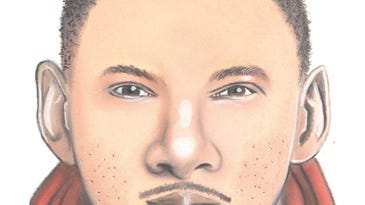 Cops release sketch of person sought in brick-throwing