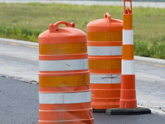 Orange Barrels