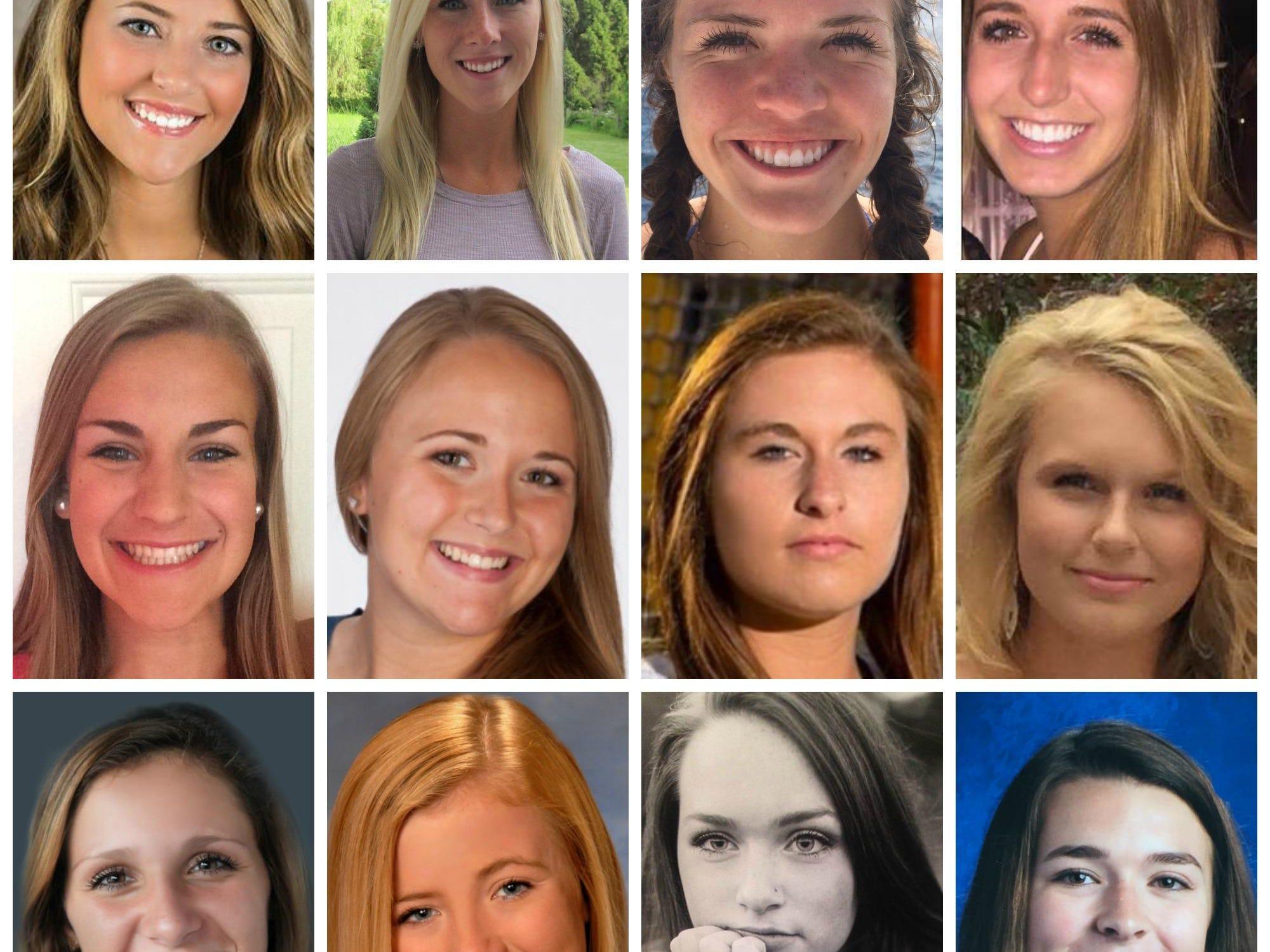 The LSJ 2015 girls lacrosse Dream Team.