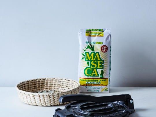 Corn tortilla kit from Food52.